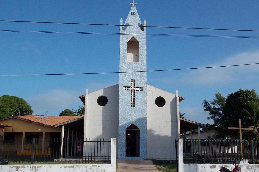 Resultado de imagem para igreja catolica de Olinda Nova do Maranhão